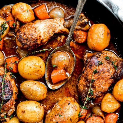 Chicken Stew with Potatoes!