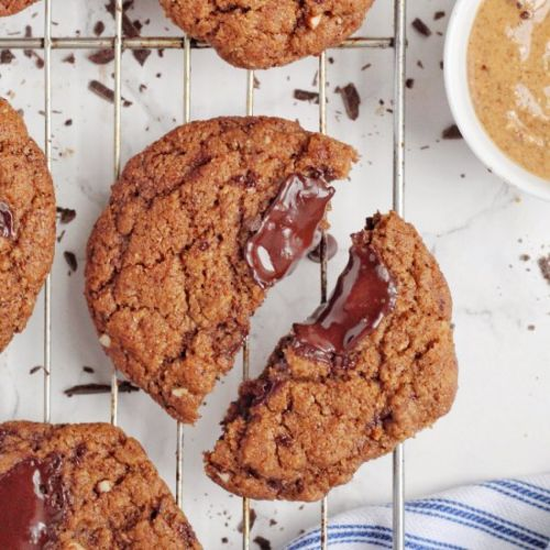 GF Almond Butter Chocolate Cookies