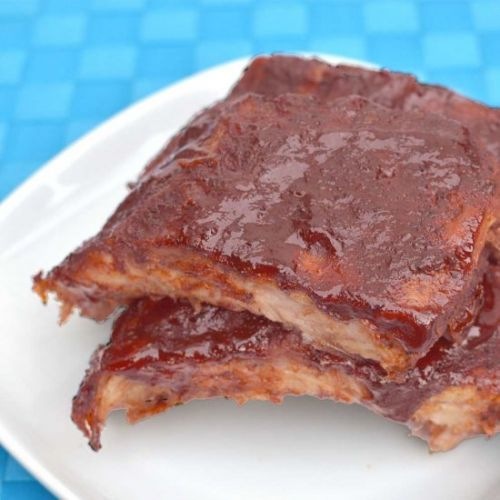 Barbequed Baby Back Ribs