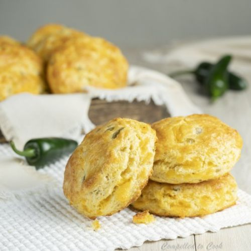 Flaky Jalapeño Cheddar Biscuits