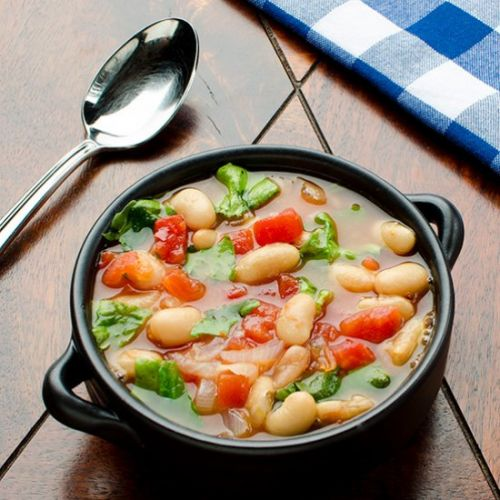 Tomato and White Bean Soup