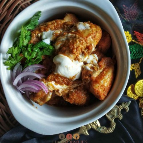 Butter Chicken:  Low-Cal Version