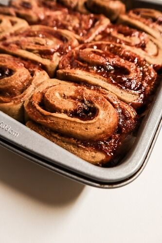 Vegan Peanut Butter and Jelly Sweet Rolls