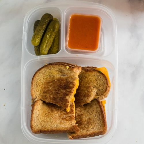 Grilled Cheese Lunchbox Idea