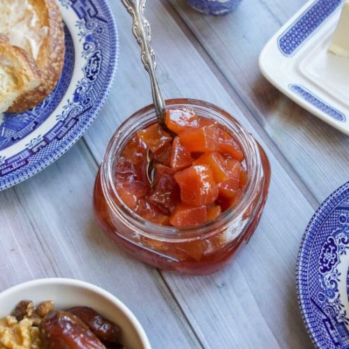 Quince Jam and Preserves