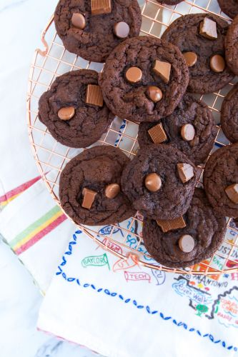 Triple Chocolate Cookies from Bigger Bolder Baking