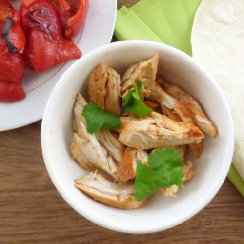 Easy Shredded Chicken with Paprika