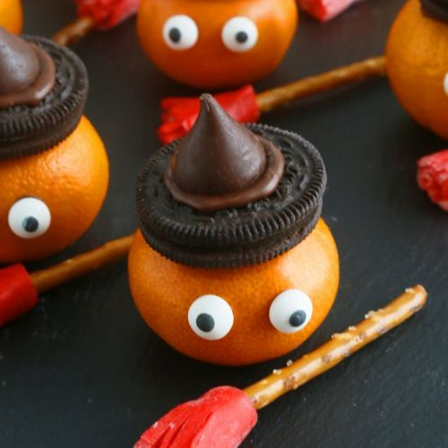 Halloween Witch Clementines