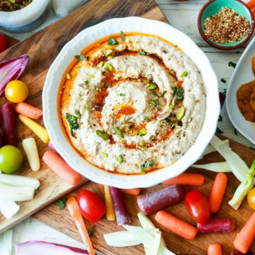 BABA GANOUSH WITH CANNELLINI BEANS