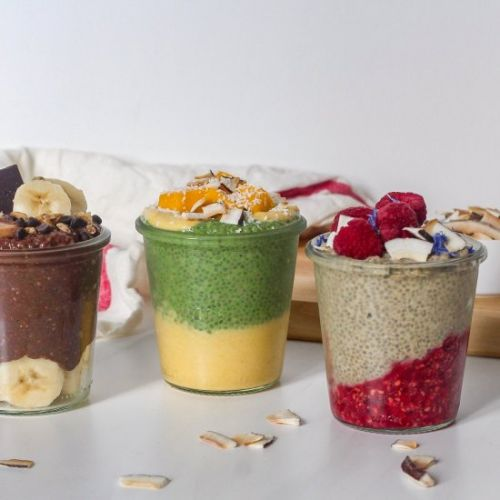 Chia Pudding: Three Ways