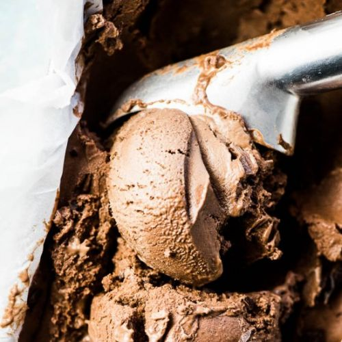 Healthy Chocolate Banana Ice Cream