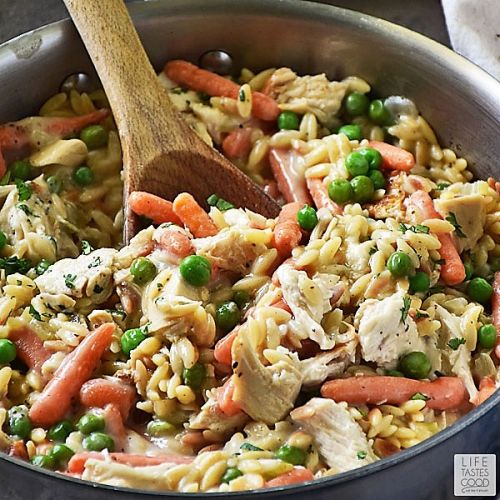 Chicken Pot Pie Orzo