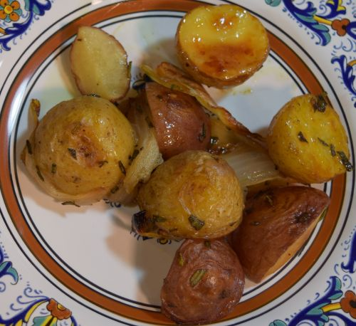 Tuscan Style Roasted Potatoes