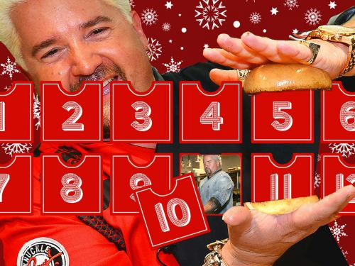 The 12 Days of Guy Fieri: A Tour of the Flavortown Restaurant Empire