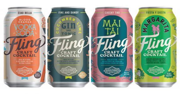 Spring Fling: Boulevard Brewing Launches Canned Cocktail Line