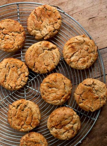 Peanut Butter Paprika Cookies