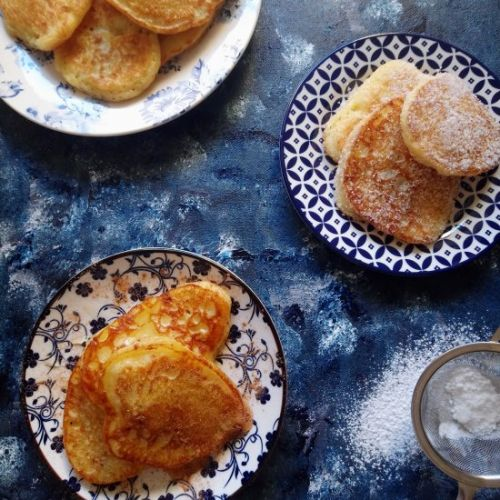 "Greek Pancakes ""Tiganites"""