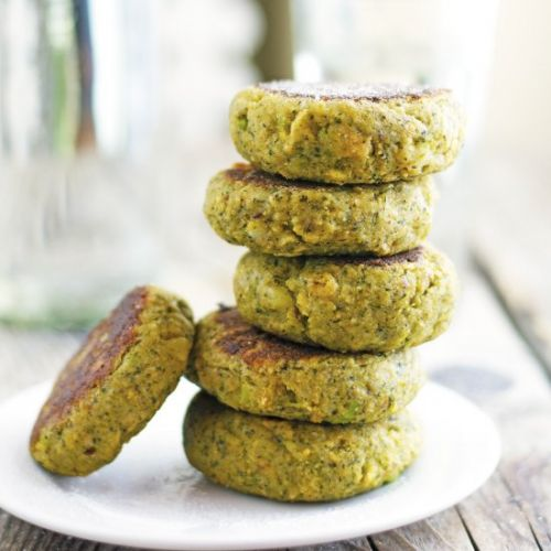 Broccoli and Potato Patties