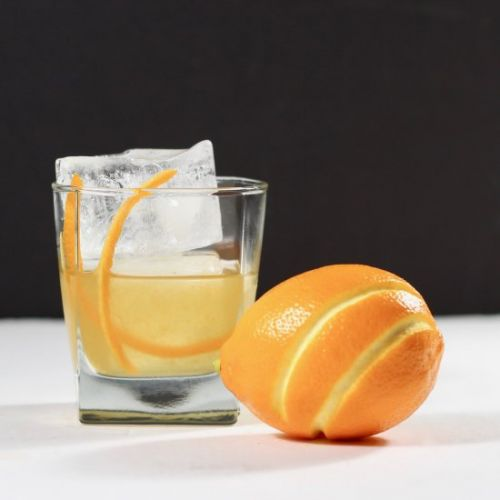 Meyer Lemon Whiskey Cocktail