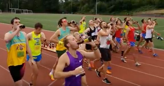 Beer Mile World Record Holder Disqualified for Not Chugging Enough Beer