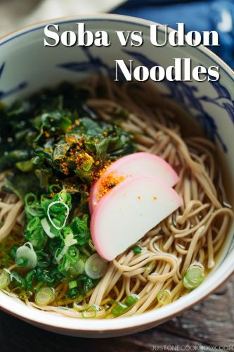 What is the Difference Between Soba and Udon Noodles