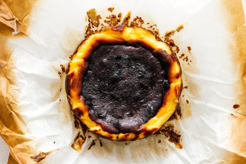 The Easiest Cheesecake You'll Ever Make: 5 Ingredient Burnt Basque Cheesecake Recipe