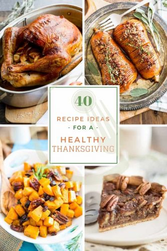 Recipe Ideas for a Healthy Thanksgiving