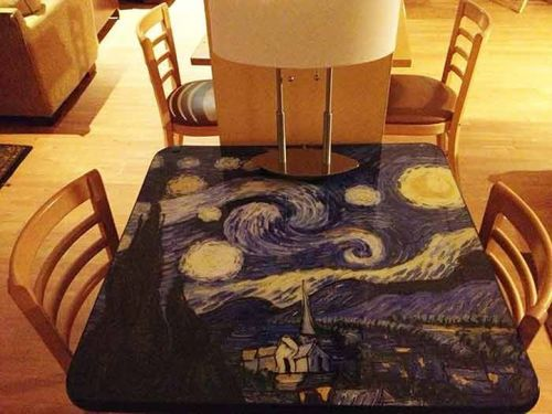 Create a Stunning Look with Custom and Themed Table Tops