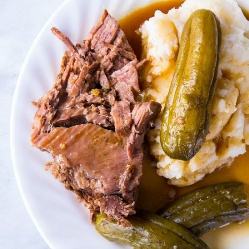 Dill Pickle Pot Roast