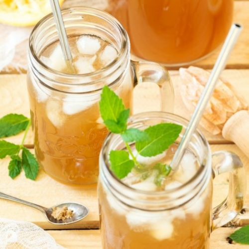 Brown lemonade