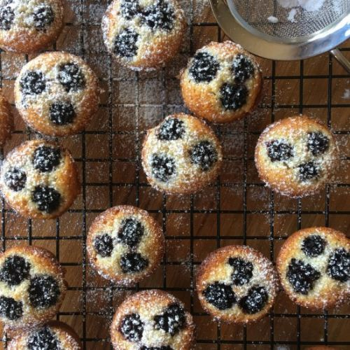 Blackberry and Lime Friands