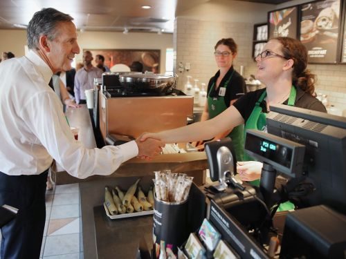 Starbucks Wants Employees to Spend Work Hours Doing Community Service