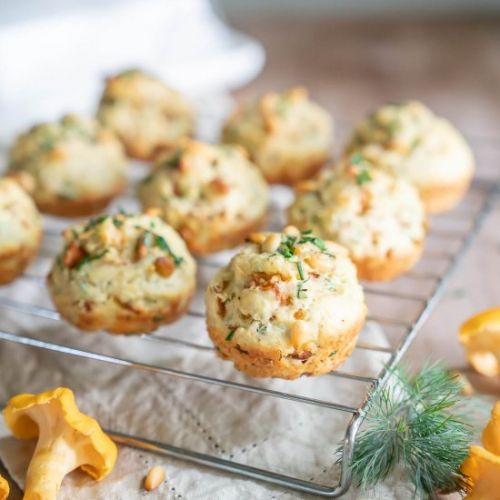 Chanterelle Herb Biscuits