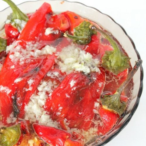 Roasted Peppers Salad