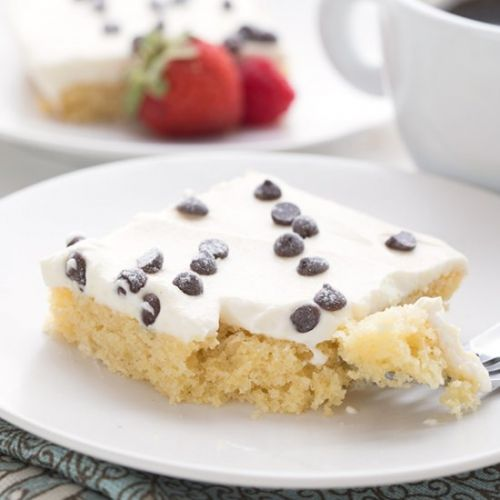 Cannoli Sheet Cake