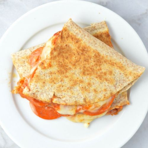 Pepperoni Pizza Quesadilla