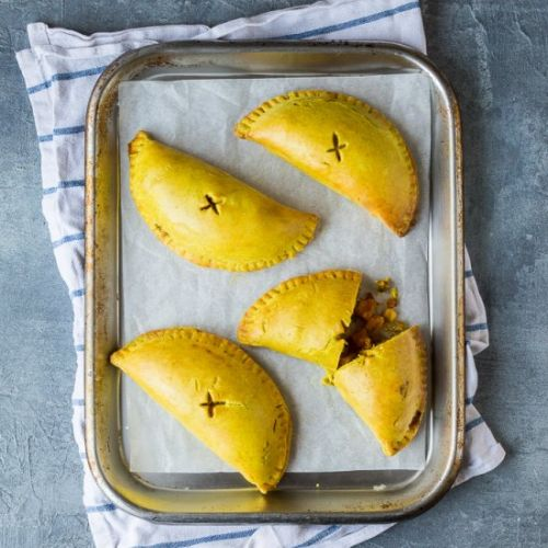 Jamaican Vegetable Patties