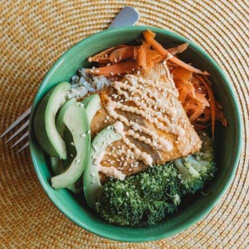 Spicy Salmon Bowls