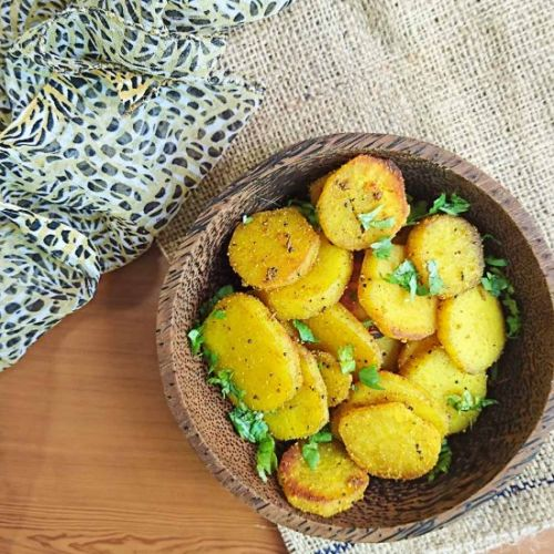 Sweet Potato Sabzi