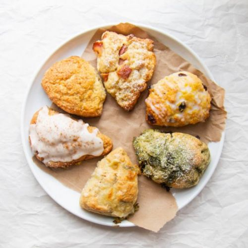 One master scone dough six ways!