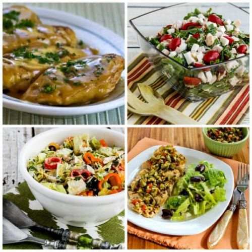 Five Easy Low-Carb Recipes for Week-Night Chicken Dinners