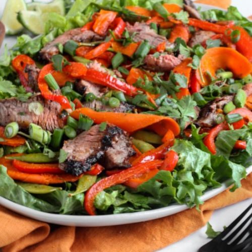 Easy Grilled Asian Steak Salad