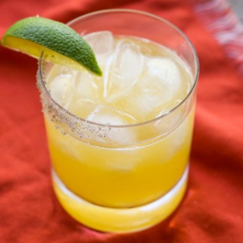 Pineapple Mezcal Margarita