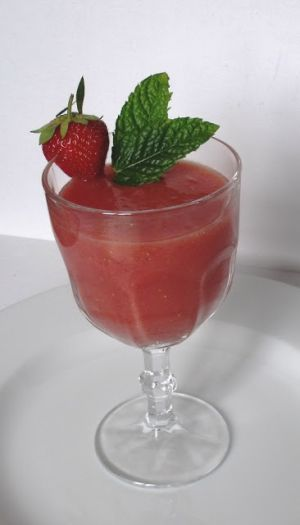 Watermelon & Strawberry Cocktail