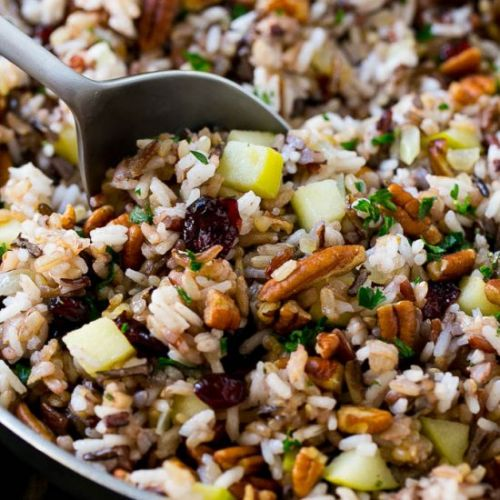 Rice Pilaf with Cranberries