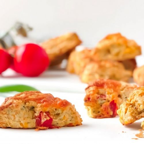 Tomato, Sage and Cheddar Savory Scones