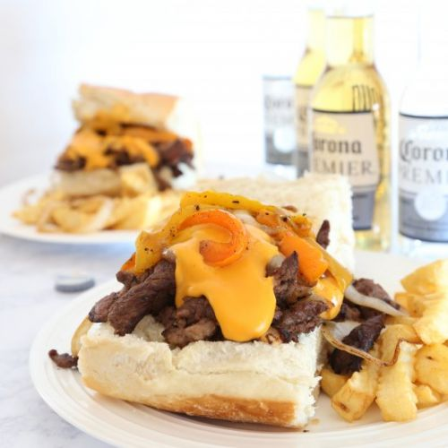 Easy Philly Cheese Steak