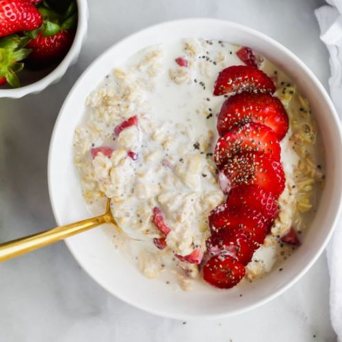 Strawberries and Cream Oats
