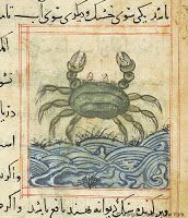 Medieval crab recipes and 1723 recipes for crabs with dates, ginger, pistachios