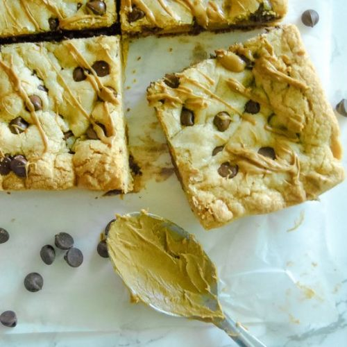 Cookie Butter Chocolate Cookie Bars